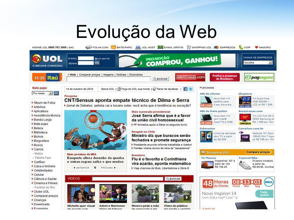 Evolução da Web