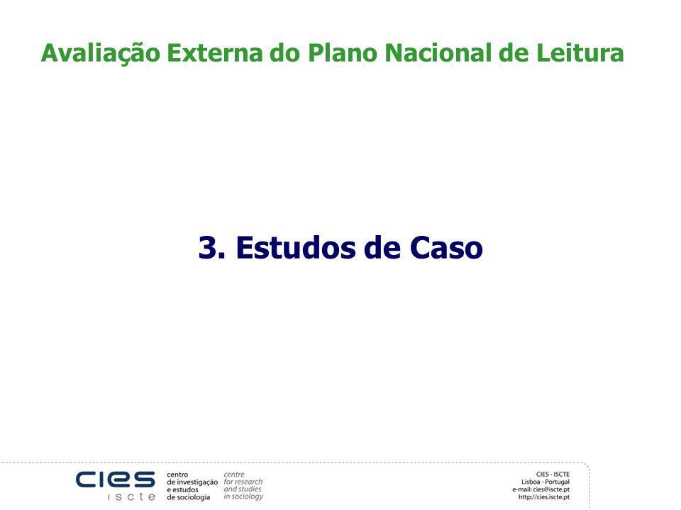 Avaliação Externa do Plano Nacional de Leitura