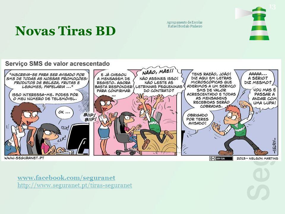 Novas Tiras BD www.facebook.com/seguranet