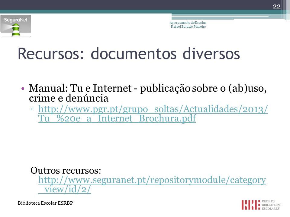 Recursos: documentos diversos