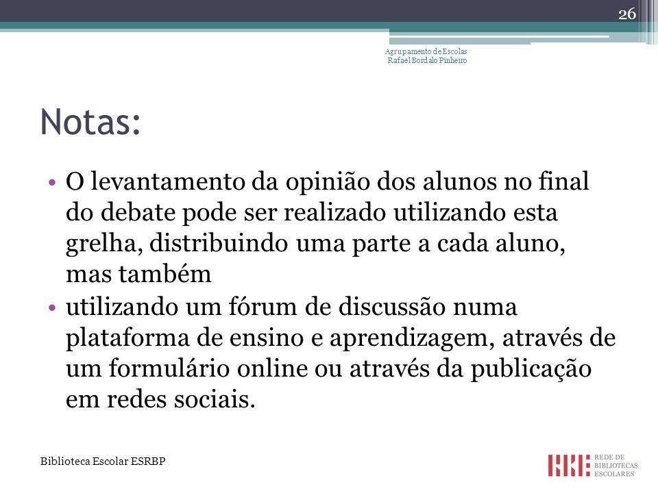 Agrupamento de Escolas Rafael Bordalo Pinheiro