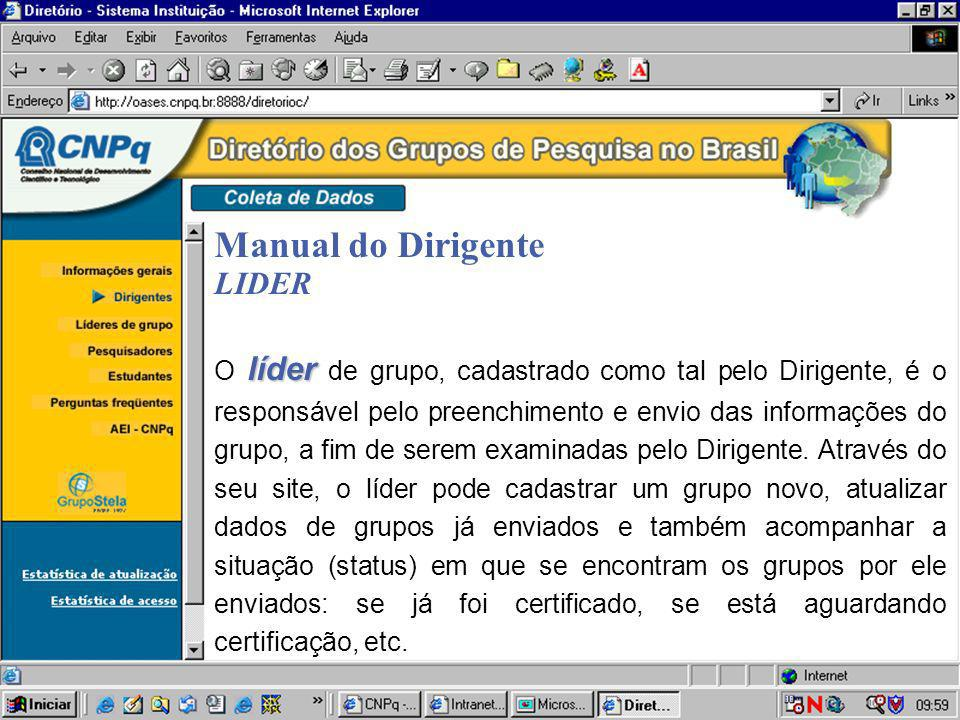 Manual do Dirigente LIDER