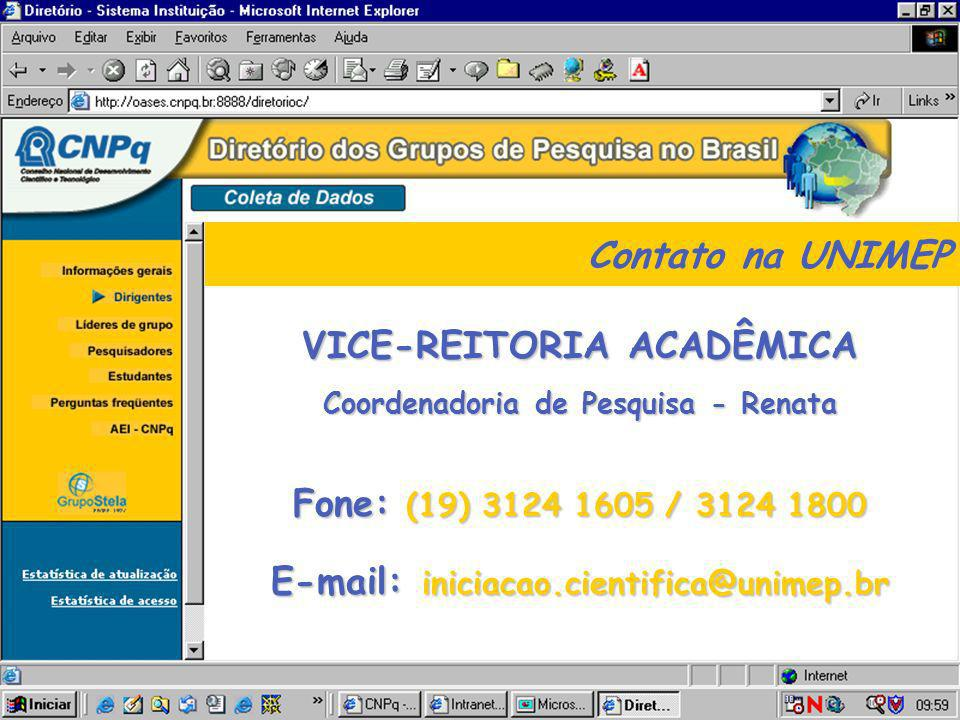 Coordenadoria de Pesquisa - Renata