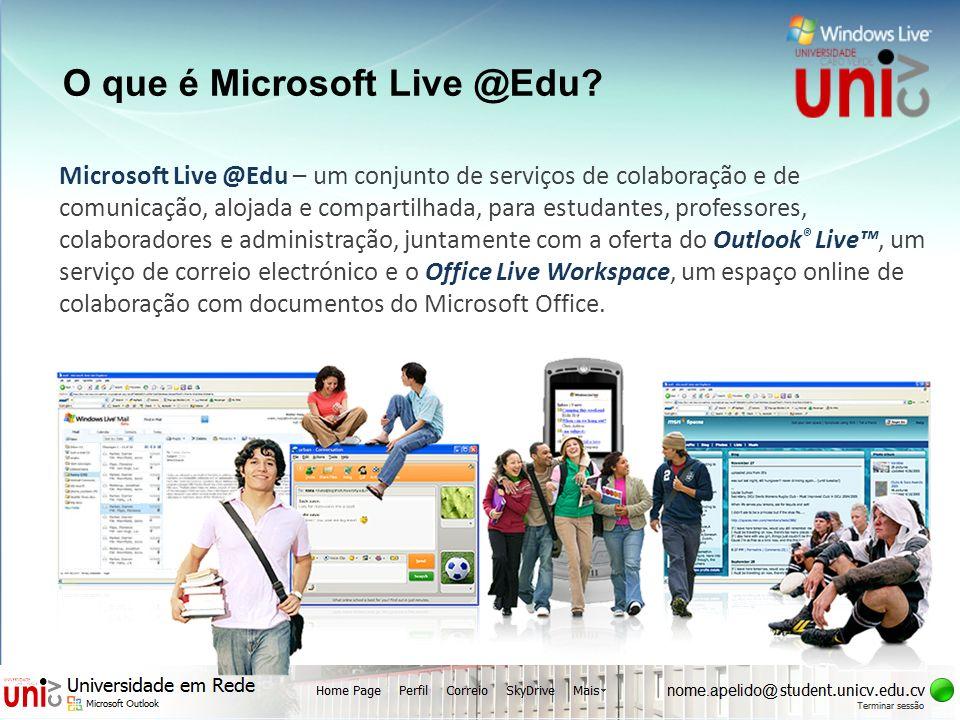 O que é Microsoft Live @Edu