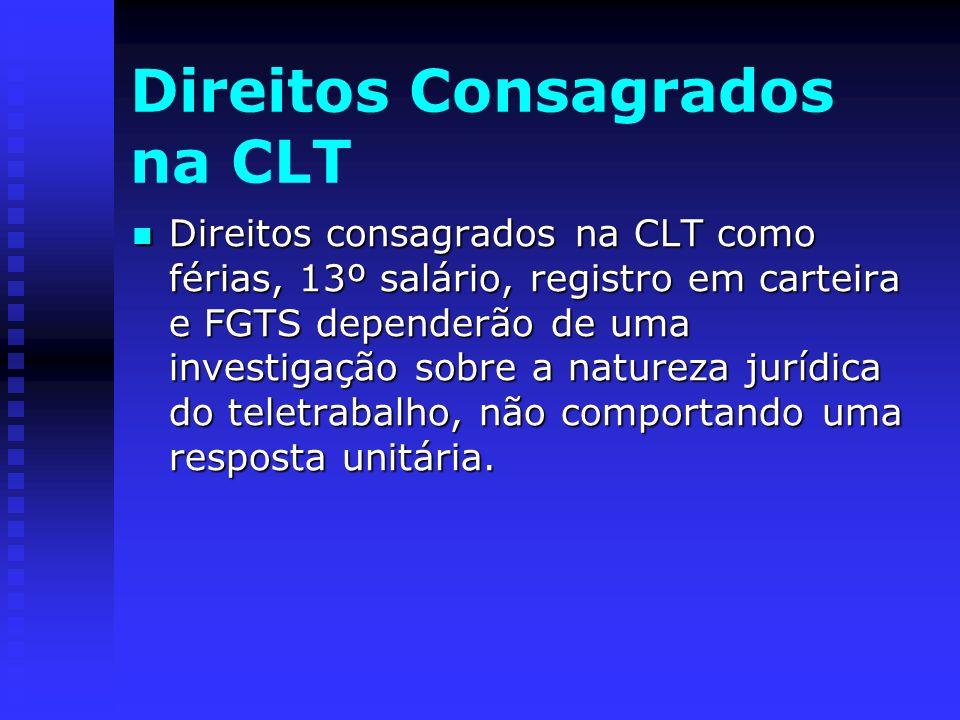 Direitos Consagrados na CLT