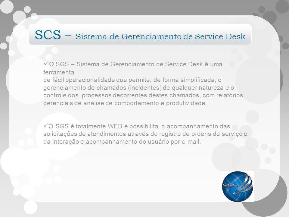 SCS – Sistema de Gerenciamento de Service Desk