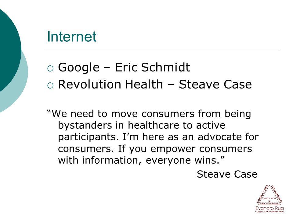 Internet Google – Eric Schmidt Revolution Health – Steave Case