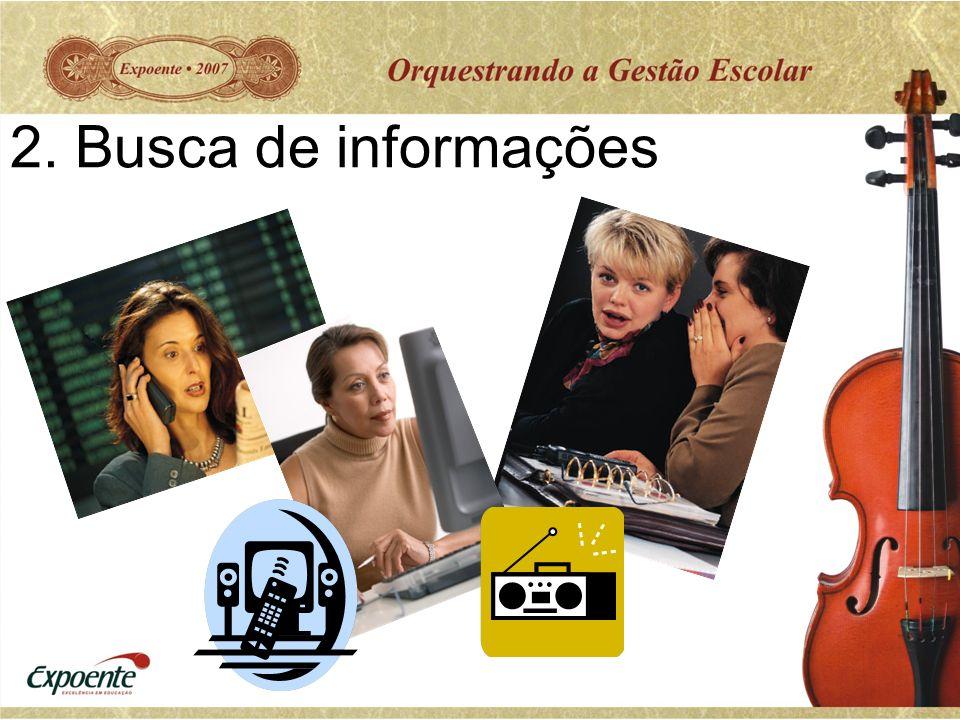 2. Busca de informações