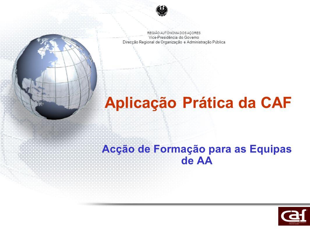 Aplicação Prática da CAF