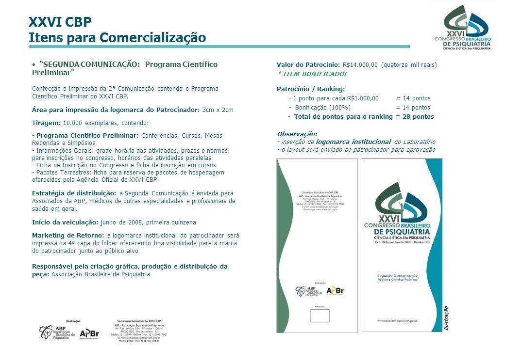 SEGUNDA COMUNICAÇÃO: Programa Científico Preliminar