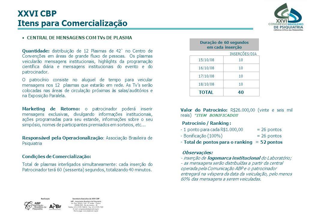 CENTRAL DE MENSAGENS COM TVs DE PLASMA