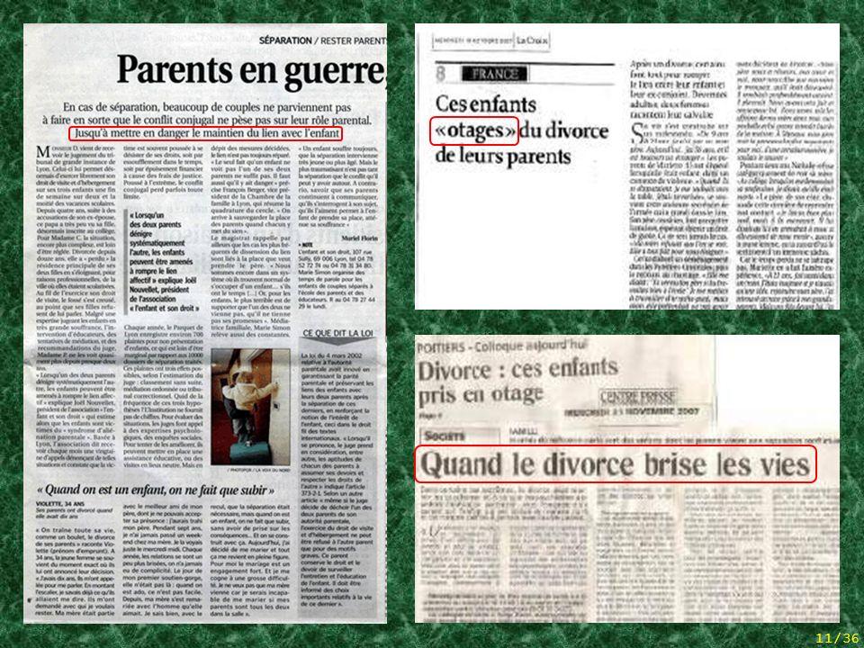3 articles de presse
