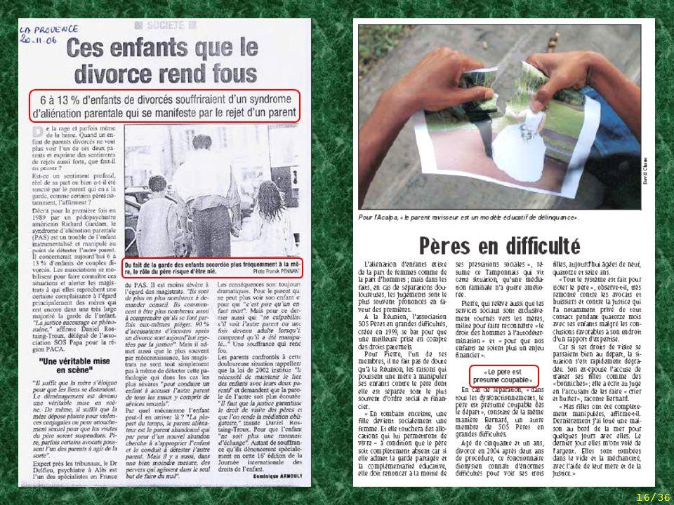 2 articles de presse