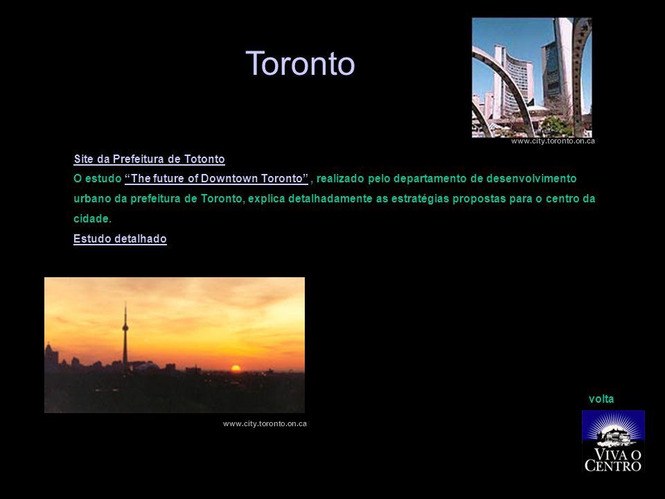 Toronto Site da Prefeitura de Totonto