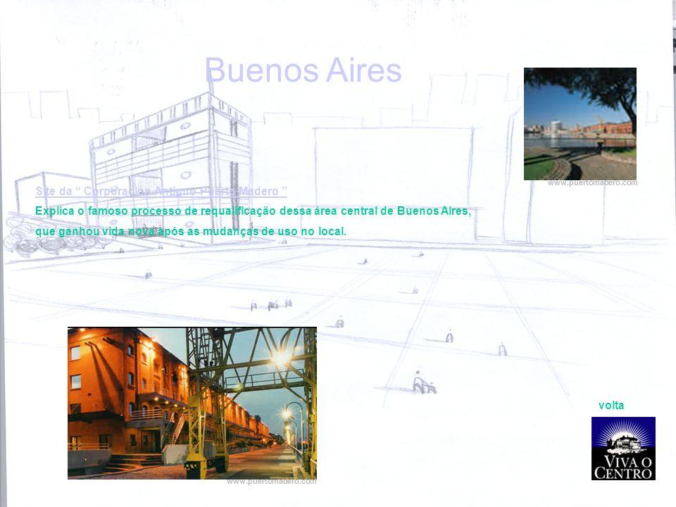 Buenos Aires Site da Corporación Antiguo Puerto Madero