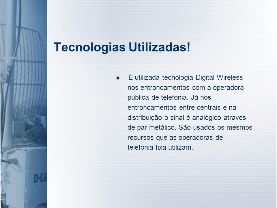 Tecnologias Utilizadas!