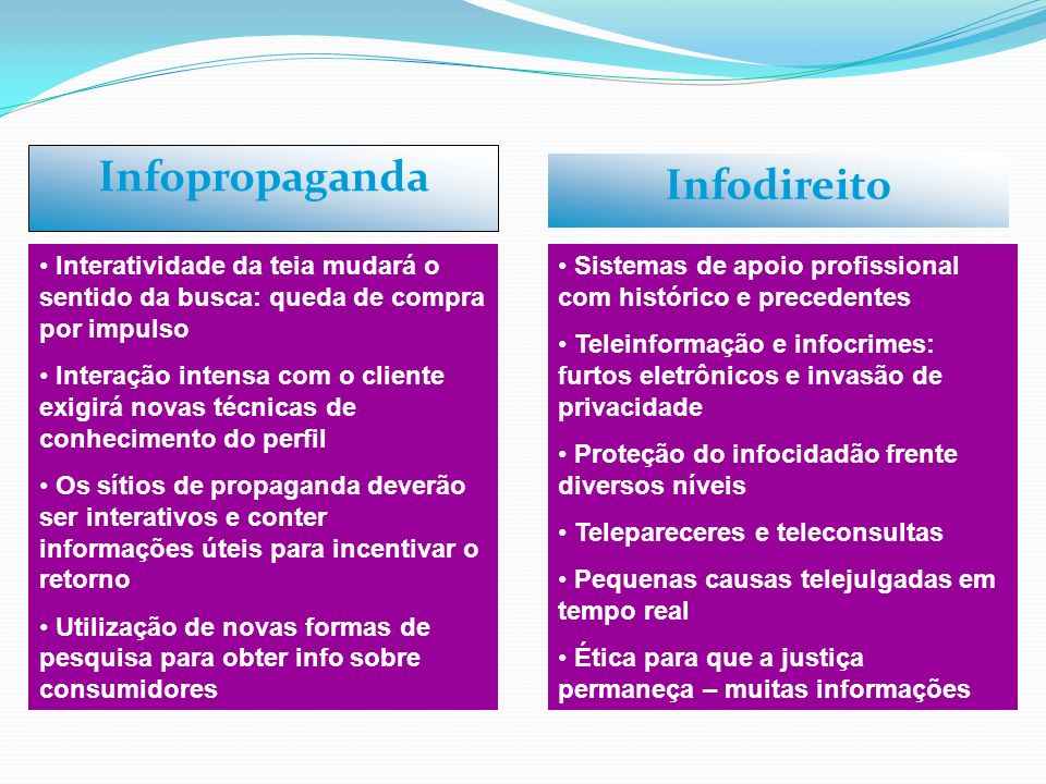 Infopropaganda Infodireito