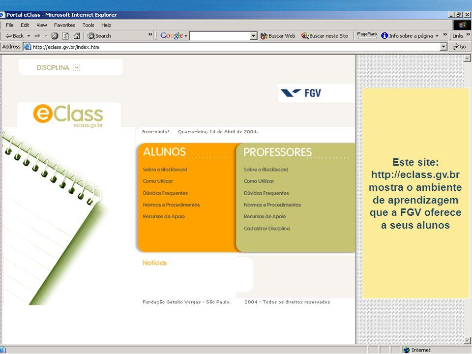 Este site: http://eclass. gv