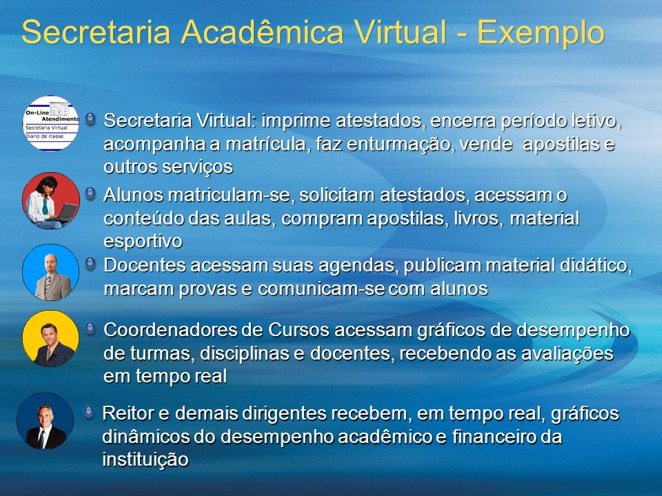 Secretaria Acadêmica Virtual - Exemplo