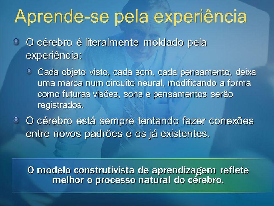 Aprende-se pela experiência