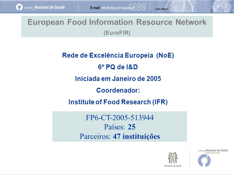 European Food Information Resource Network