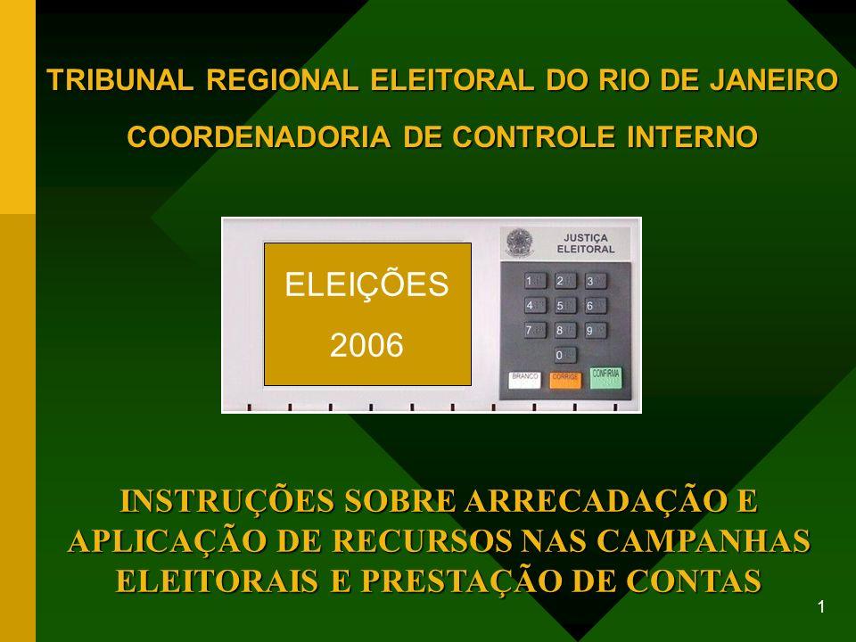 TRIBUNAL REGIONAL ELEITORAL DO RIO DE JANEIRO