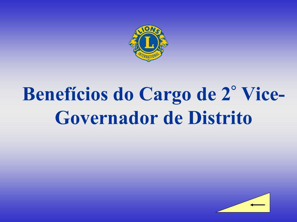 Benefícios do Cargo de 2° Vice-Governador de Distrito