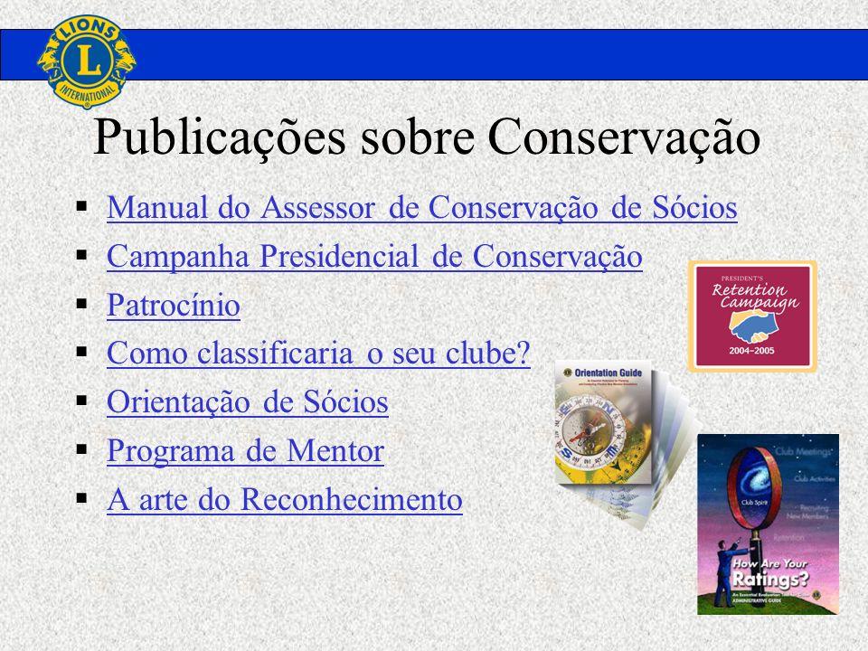 Publicações sobre Conservação