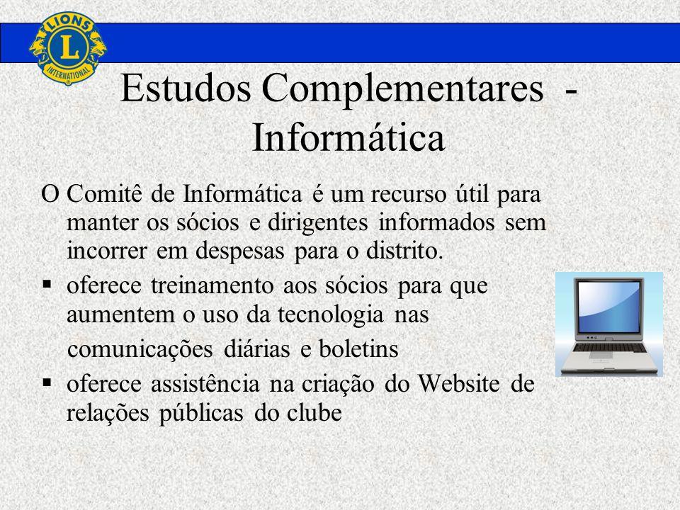 Estudos Complementares - Informática