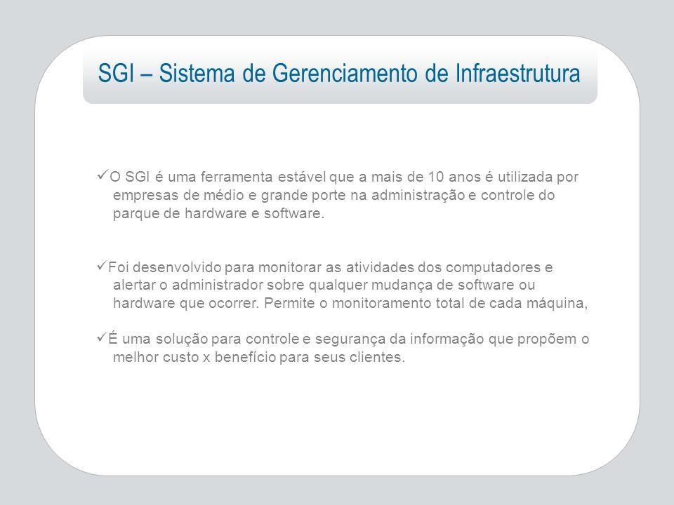 SGI – Sistema de Gerenciamento de Infraestrutura
