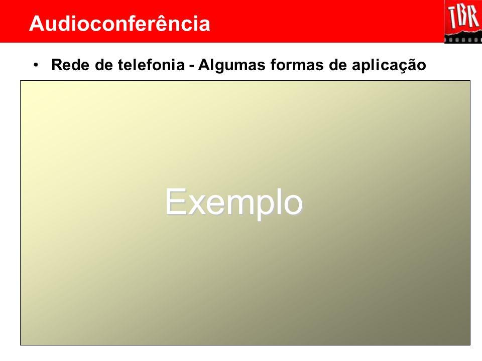 Exemplo Audioconferência