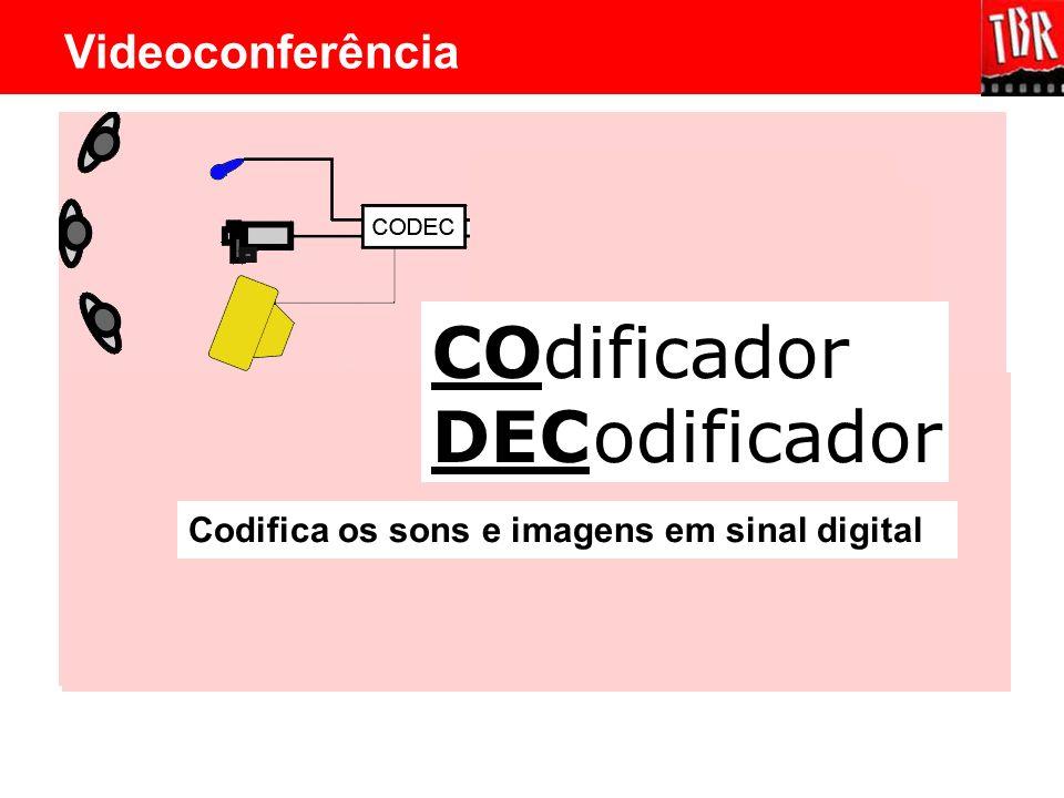 CO DEC dificador odificador Videoconferência