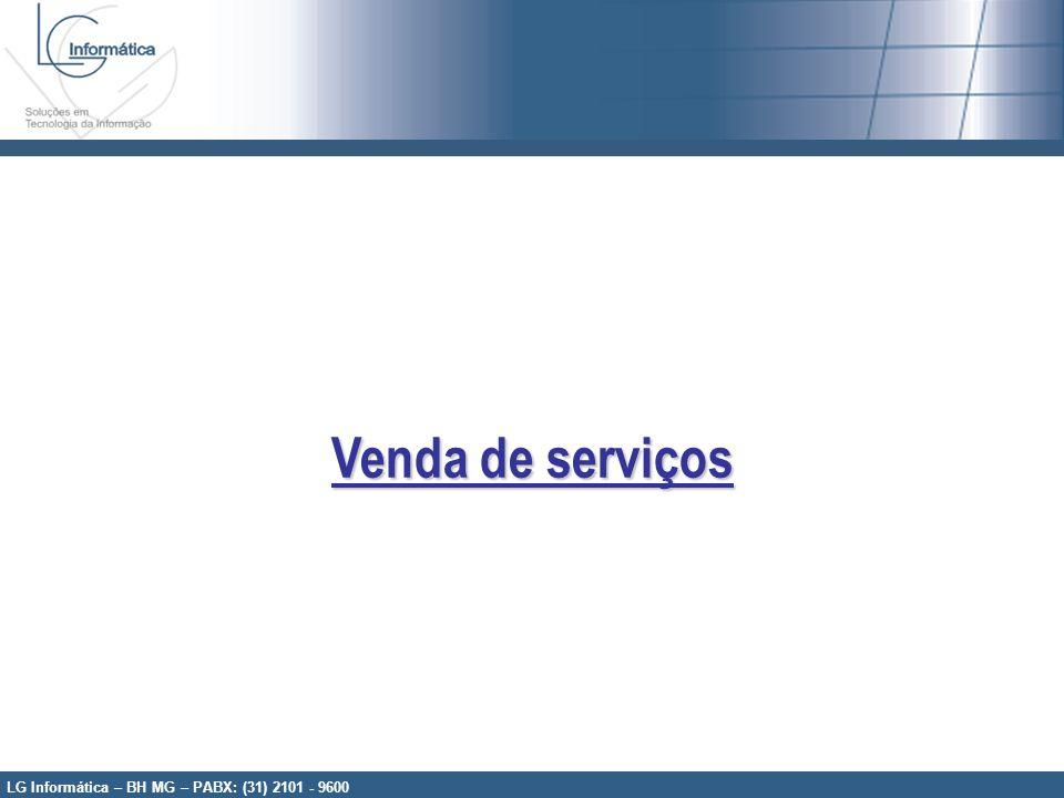 Venda de serviços