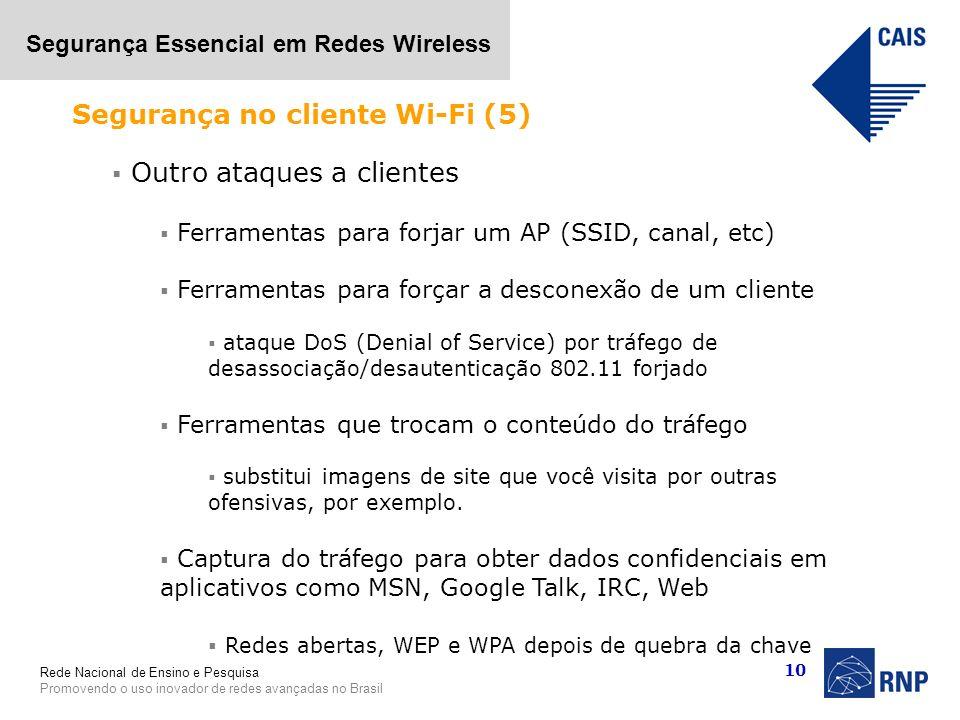 Segurança no cliente Wi-Fi (5)