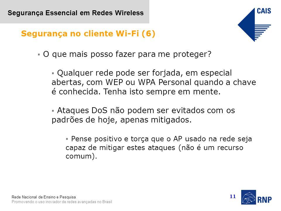Segurança no cliente Wi-Fi (6)