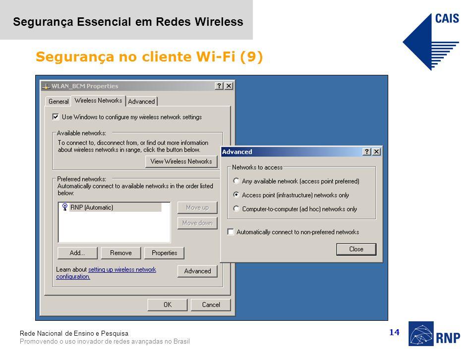 Segurança no cliente Wi-Fi (9)