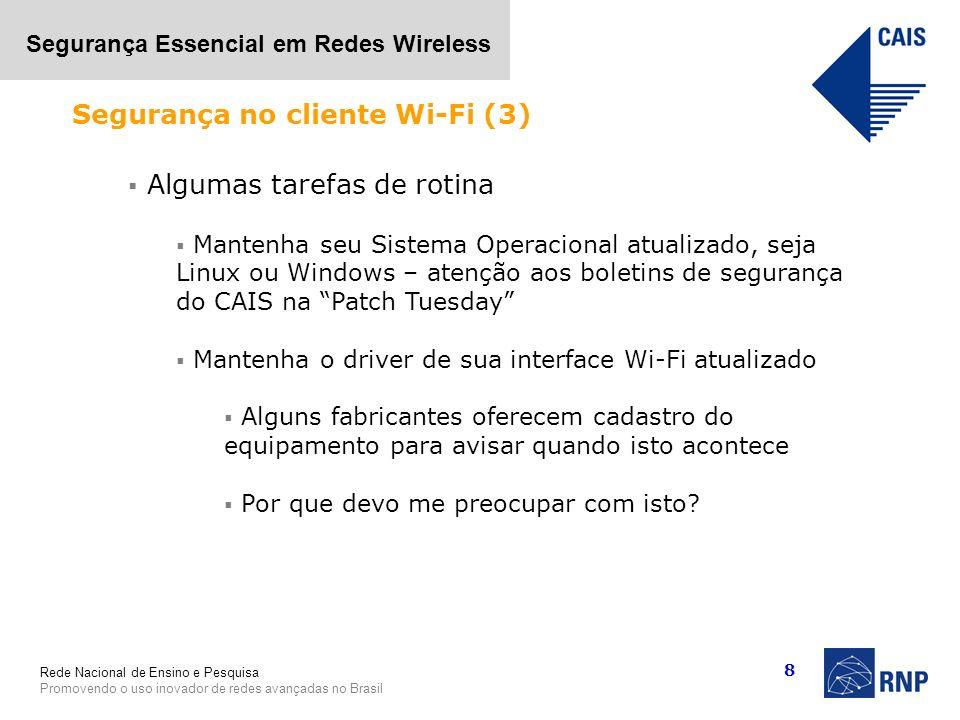 Segurança no cliente Wi-Fi (3)