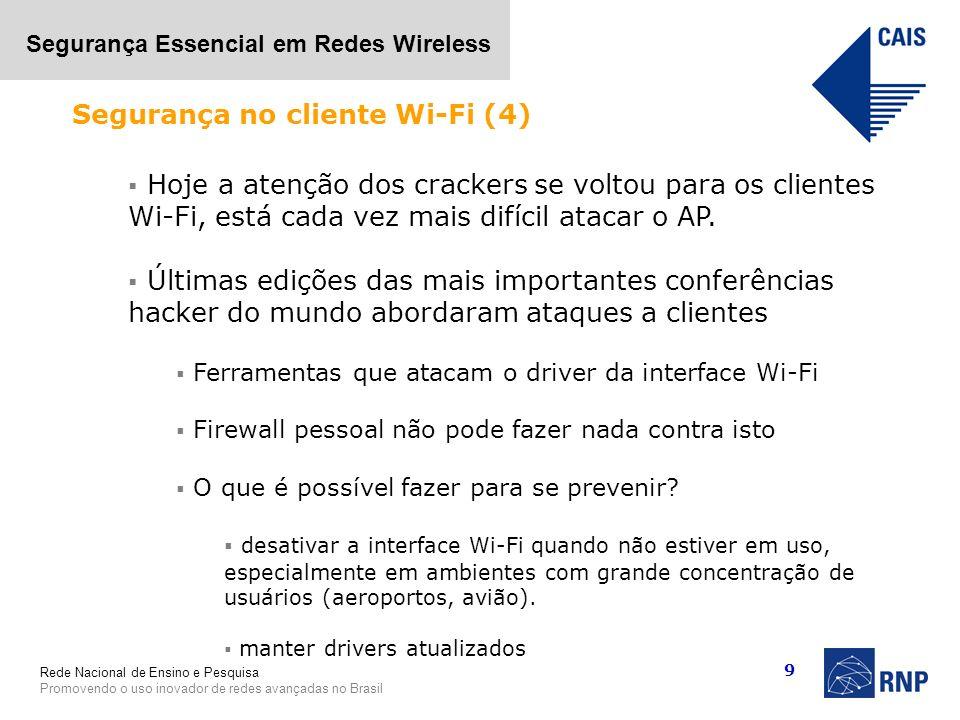 Segurança no cliente Wi-Fi (4)