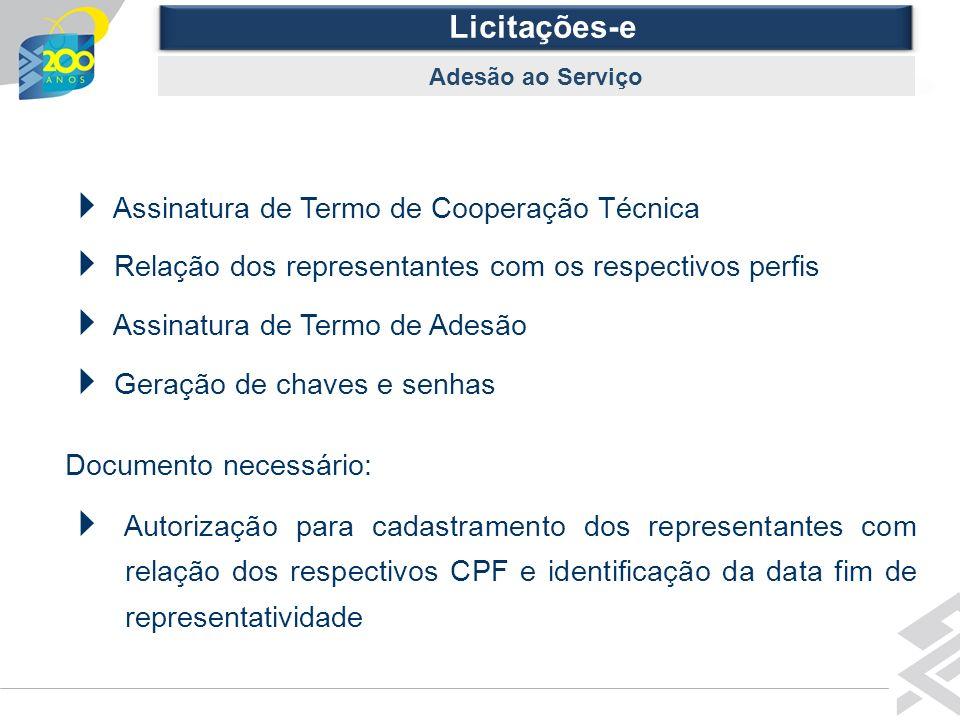  Assinatura de Termo de Cooperação Técnica