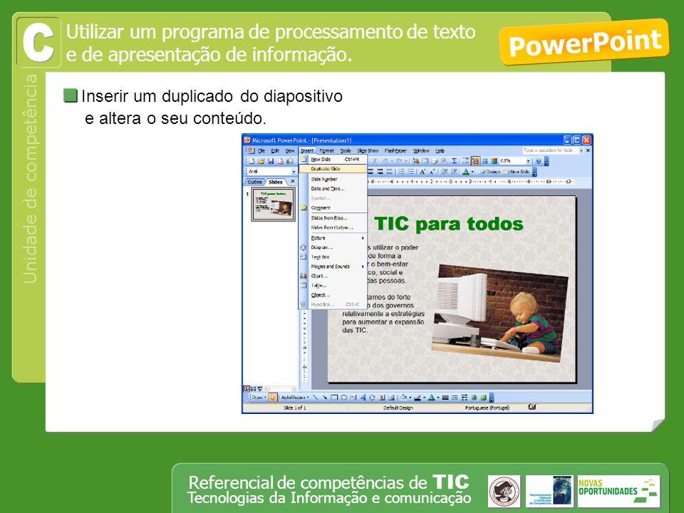 Utilizar um programa de processamento de texto
