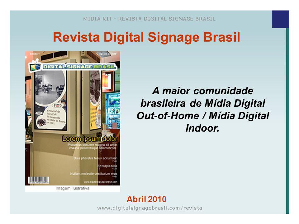 Revista Digital Signage Brasil