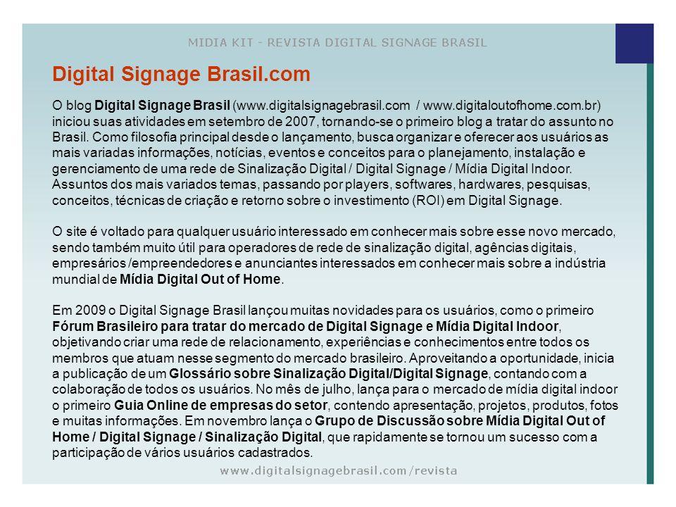 Digital Signage Brasil.com