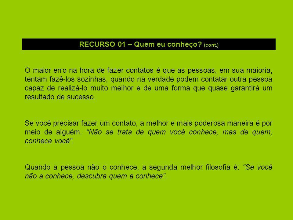 RECURSO 01 – Quem eu conheço (cont.)