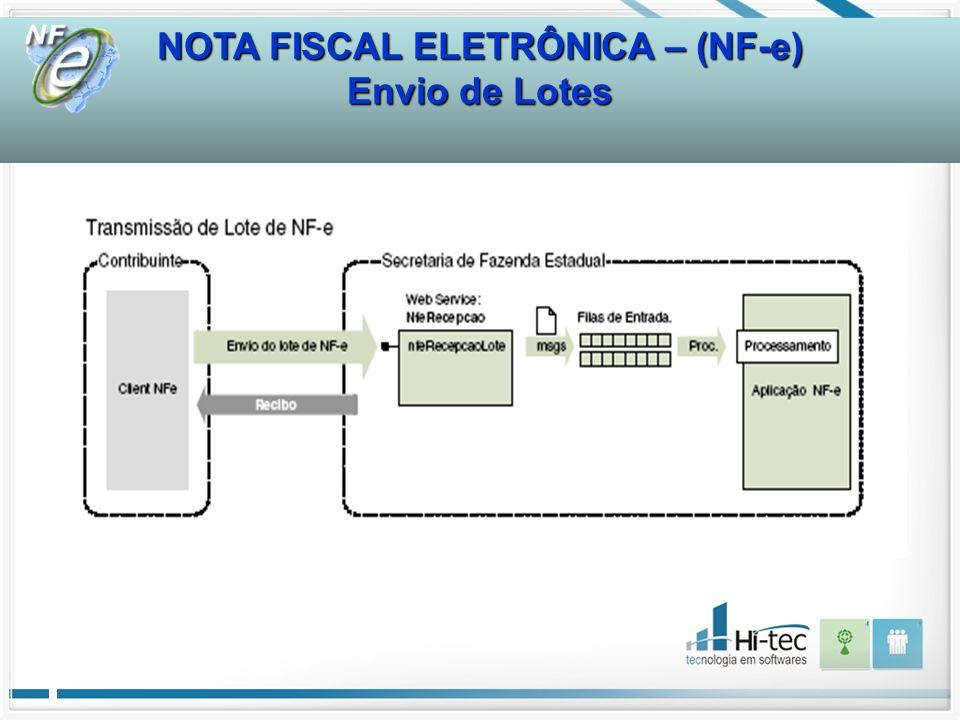 NOTA FISCAL ELETRÔNICA – (NF-e)