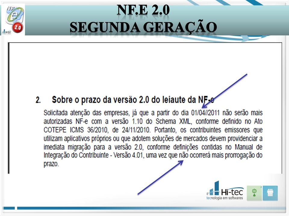 NF.E 2.0 Segunda Geração