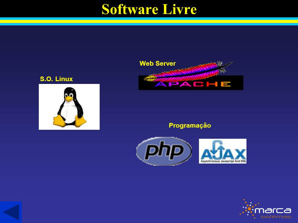 Software Livre Web Server S.O. Linux Programação