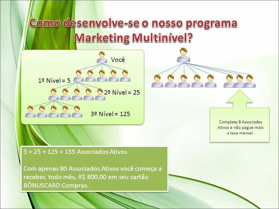 Como desenvolve-se o nosso programa Marketing Multinível