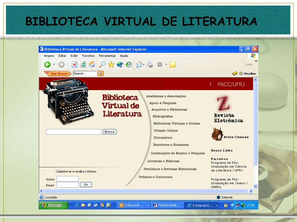 BIBLIOTECA VIRTUAL DE LITERATURA