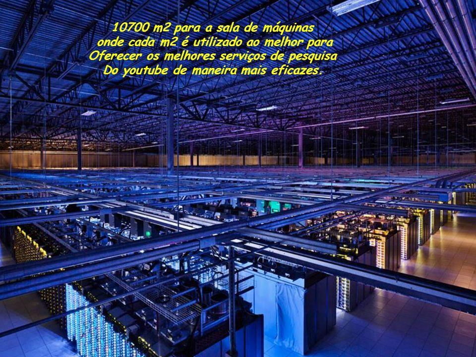 10700 m2 para a sala de máquinas