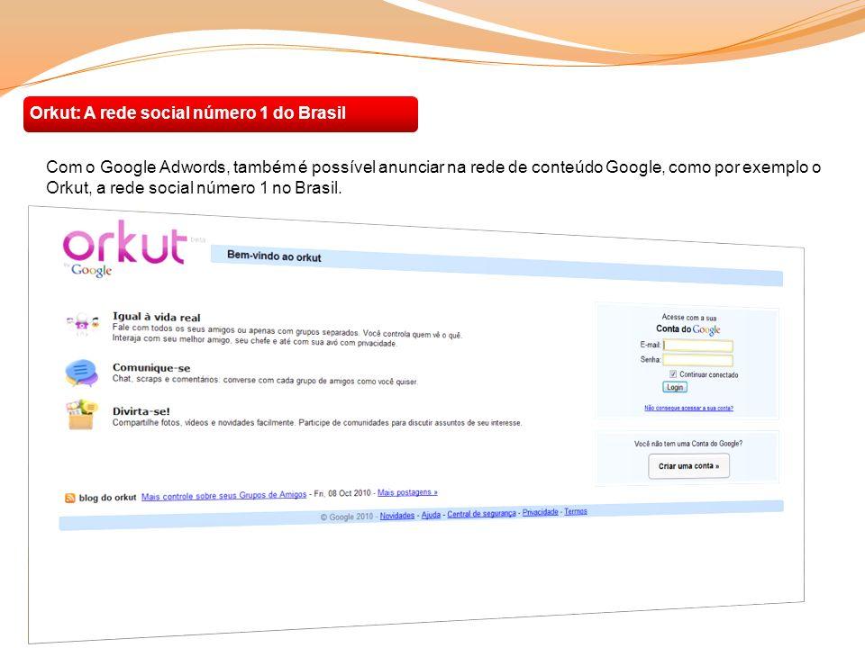 Orkut: A rede social número 1 do Brasil
